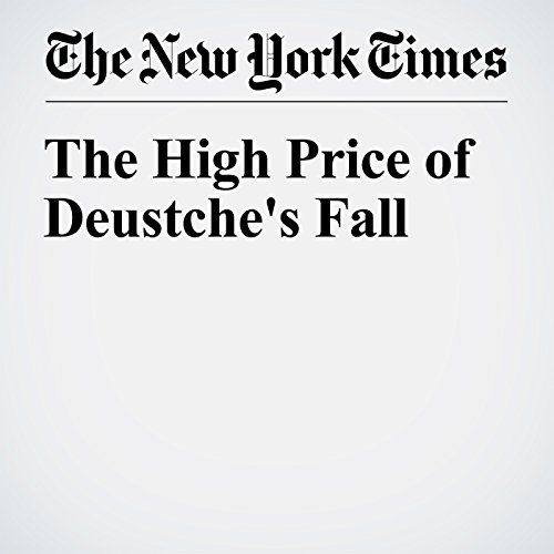 The High Price of Deustche's Fall copertina