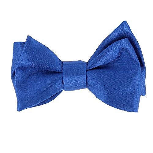 CravateSlim Noeud Papillon Bleu roi à Nouer - Noeud Papillon Homme