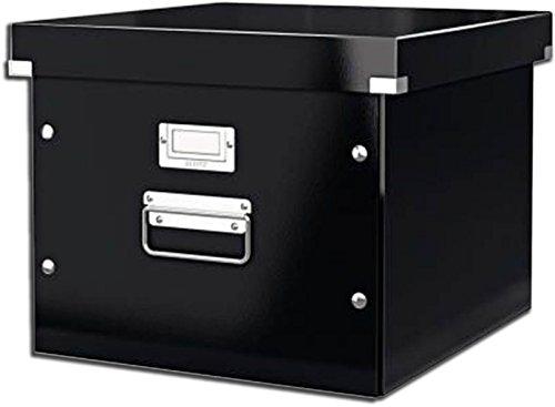 Leitz Click & Store Ablage- und Transportbox für Hängeregistratur, A4, schwarz, 60460095