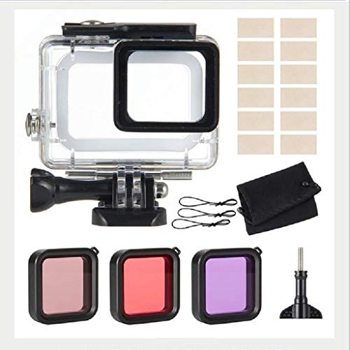 ZHAOHUIYING Sport Camera Accessoires Duiken Waterdichte Hoesje Filter Anti-mist Set Voor Gopro Hero5/6/7