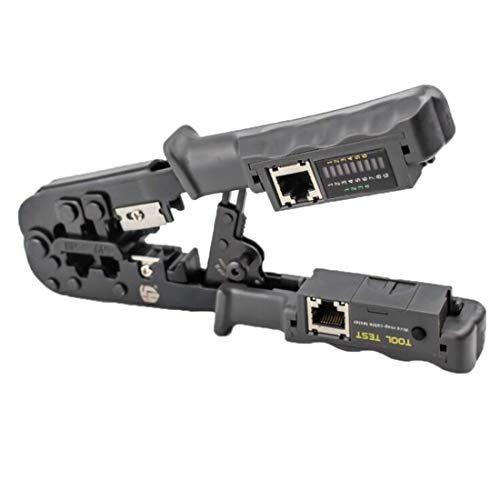 PengSF-NL TLN568CR Multifunctionele Dual-use Network Telefoon Krimptang met Tester Network Tangen