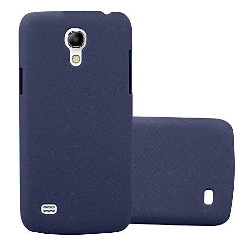 Cadorabo Funda para Samsung Galaxy S4 Mini en Frosty Azul - Cubierta Protección de Plástico Duro Super Delgada e Inflexible con Antichoque - Case Cover Carcasa Protectora Ligera