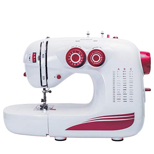 Best Bargain Sewing Machines Household Sewing Machine Home 42 Stitches Multi-Function Eat Thick 8 La...
