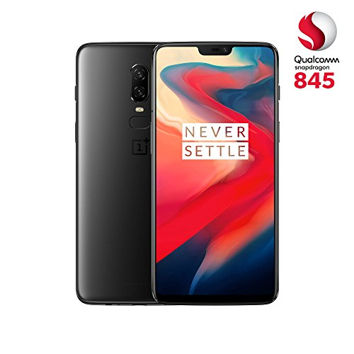 OnePlus 6 (Dual SIM) 128 GB Android 8.1 Oreo/Oxygen UK Version SIM-Free Smartphone - Midnight Black