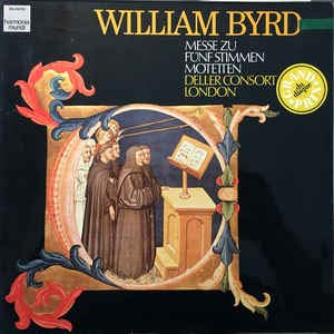 William Byrd: Messe Zu Fünf Stimmen - Motetten [Vinyl]