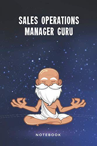 Sales Operations Manager Guru Notebook: Customized 100 Page Lined Journal Gift For A Busy Sales Operations Manager