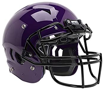 Schutt Sports Vengeance A11 Youth Football Helmet Facemask NOT Included Purple X-Small