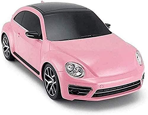 yanzz Coche RC, 4x4 Crawlers 1:14 Coche de Control Remoto, Pink Girl Racing, Coche Deportivo de Alta Velocidad con Deriva eléctrica de 2.4G RC con luz de Coche LED para cumpleaños Regalo de Navida