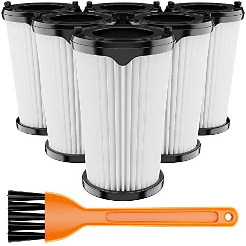 SANAWATEC 6x Filter als Ersatz für AEG CX7 Filter AEG CX7-2 AEG Ergorapido Staubsauger Modelle wie AEF150, staubsauger mit akku für AEG filter CX7-2 HEPA-Filter mit 1 Reinigungsbürste, waschbar