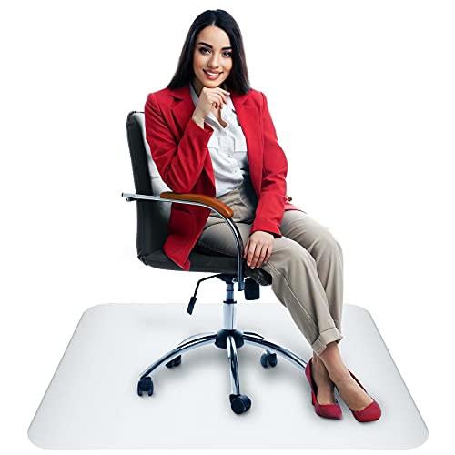 Bodenschutzmatte Bürostuhl Unterlage Schreibtischstuhl Unterlage - Bodenschutzmatte Transparent Schutzmatte Bürostuhl Matte - Stuhl Unterlegmatte Bürostuhlunterlage Bürostuhl Unterlage Transparent