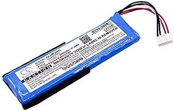 Cameron Sino 3000mAh Battery Compatible with JBL JBLFLIP3GRAY Portable Bluetooth Speaker