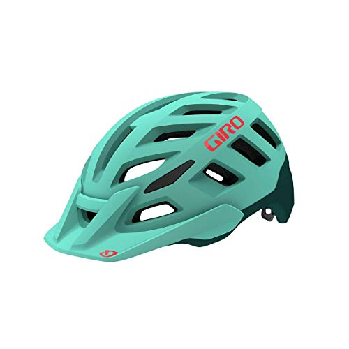 Giro Damen Radix W Fahrradhelm Dirt, Matte cool Breeze/True Spruce, M | 55-59cm