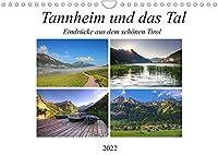Tannheim und das Tal (Wandkalender 2022 DIN A4 quer): Saftige Wiesen, schroffe Berghaenge, glas klare Bergseen, stahlblauer Himmel, dass ist das Tannheimer Tal. (Monatskalender, 14 Seiten )