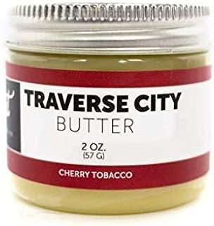 Detroit Grooming Co. - Traverse City Beard Butter - Cherry Tobacco Scent - Beard Balm - Beard Conditioner (2oz.)