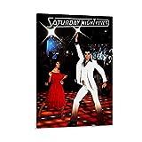 ZAINALI Film-Leinwand-Poster mit Saturday Night Fever –