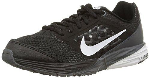 Nike Herren, tri Fusion Run (gs), Mehrfarbig (Black/White-drk Gry-Mtllc slvr), 37.5