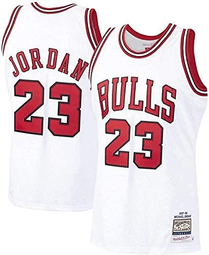 WEIZI Chicago Bulls Michael Jordan #23 Hombre Jersey Swingman Camiseta de Baloncesto(Tamaño: S-XXL)