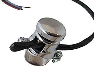 Motorcycle Motorbike Universal Lucas Replica Chrome Horn/Headlight Dip Switch To Fit 7/8