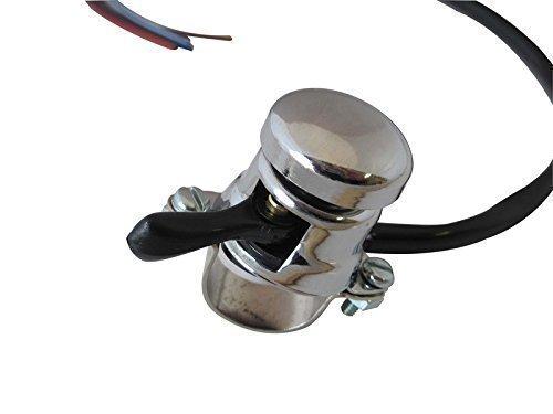 Motorrad Schalter Lucas Stil - Hupe Scheinwerfer Dip für 7/8 inch 22mm Stangen