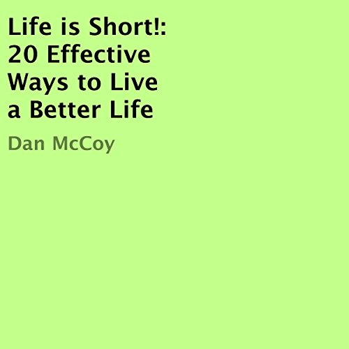 Life Is Short! audiobook cover art