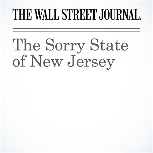 The Sorry State of New Jersey copertina