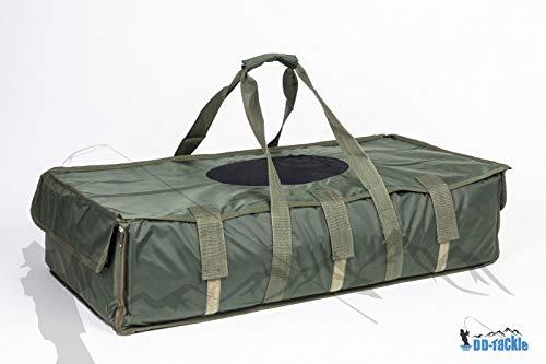 DD-Tackle Deluxe XXL Abhakmatte Carp Cradle 109 x 55 x 25cm Soft PVC Matte + Abdeckung + Tasche