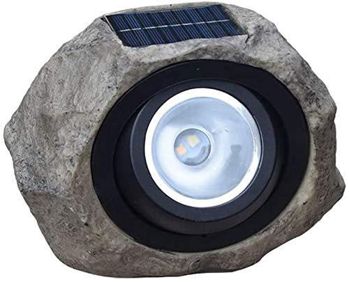 Diseño unico, Luces solares LED LED, óptica de piedra Lámpara al aire libre Lámpara de jardín Decoración de jardín Lámpara solar IP65 impermeable Luces solares Piedras de iluminación Jardín , lámparas