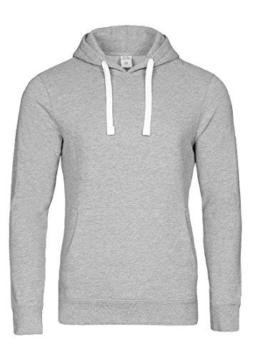 Casual Standard I Pullover Herren I Hoodie Männer I Jungen Kapuzenpullover I Men Sweater grau M