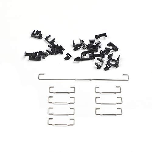 Costar Style Plate-Mounted Costar Stabilisatoren Balancing Pole Erhöhter Draht 6.25u 2U für MX mechanische Tastatur Filco (Kit 2 für 96 104 Keyboard)