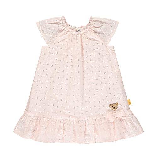 Steiff Mädchen Kleid, Rosa (Barely Pink 2560), (Herstellergröße: 104)