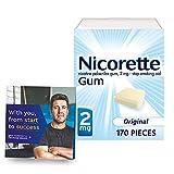 Nicorette 2mg Nicotine Gum to Help Quit...