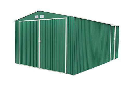 GARDIUN KIS12771 - Garaje Metálico Oxford 20,5 m² Exterior