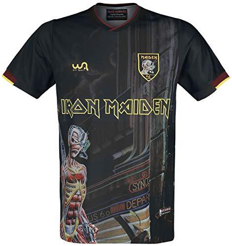 Iron Maiden Somewhere in Time - Trikot Uomo T-Shirt Multicolore XXL 100% Poliestere Regular