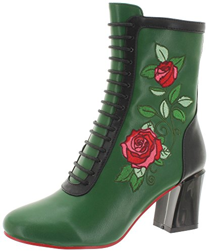 Dancing Days by Banned Stiefeletten Fantasy BND248 Grün 38