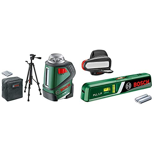 Bosch Linienlaser PLL 360 Set mit Stativ...