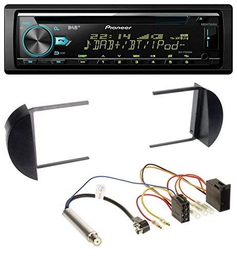 caraudio24 Pioneer DEH-X7800DAB DAB MP3 CD USB Bluetooth Autoradio für VW Beetle (1998-2011)