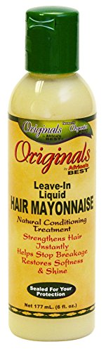 Africas Best Conditioner Originals Hair Mayonnaise Leave-In 6 Ounce (177ml) (2 Pack)