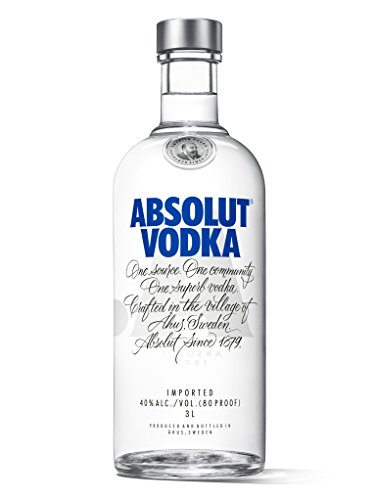 Absolut Vodka -- 3L