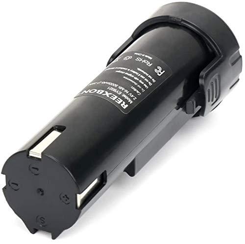 REEXBON 2.4V 3.0Ah NiMh Battery for Panasonic EY9021 EY903 EY9021B EY903B EY3652 EY503B EY6220B