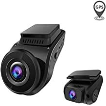 Vantrue S1 4k Dash Cam, Dual 1080P Front and Rear Car Camera with Built in GPS Speed, 24/7 Parking Mode, Sony Night Vision, Single Front 60fps, Capacitor, Motion Sensor, Support 256GB Max for Trucks