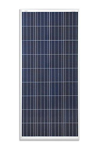 enjoysolar® Polykristallin Solarpanel 12V Poly Solarmodul (160W)