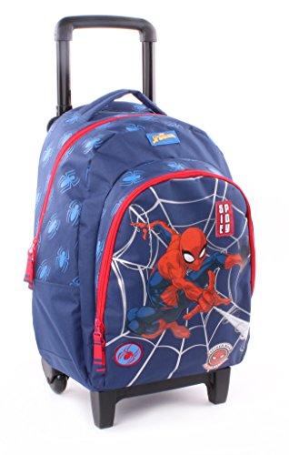 Spiderman - Sac à dos Trolley - 45 cm - marine