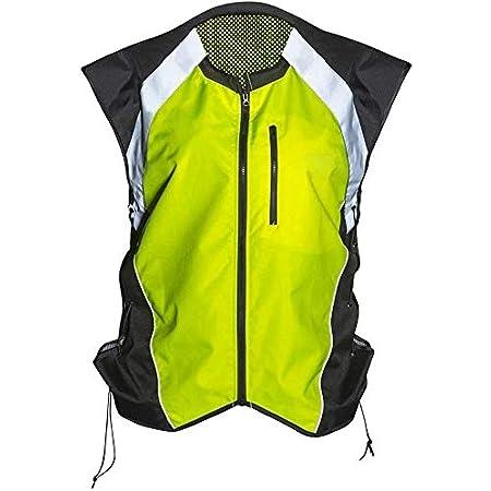 Icon Mil-Spec 2 Reflective Motorcycle Vest HI VIS YELLOW