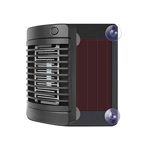 KHDJ Matamoscas Electrico, Lámpara Física Recargable Solar para Mosquitos, Lámpara Antimosquitos con Resistencia A La Corrosión ABS Y Rendimiento De Protección del Medio Ambiente, Extraíble