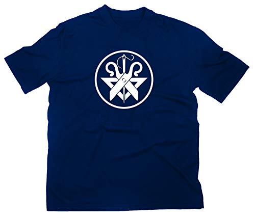 Schneider T-Shirt Zunftwappen Zunft Logo, XL, Navy