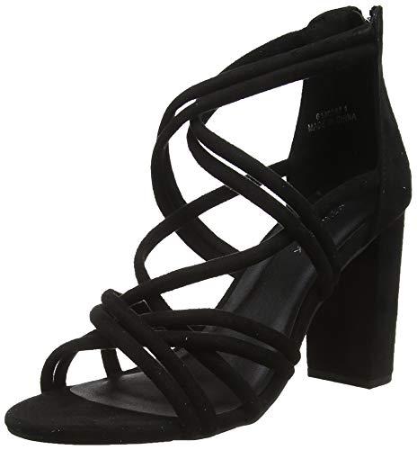 New Look Damen Vampy Peeptoe Pumps, Schwarz (Black 1), 37 EU