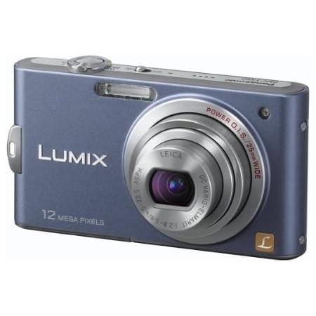 Panasonic Lumix Dmc Fs15 Digitalkamera 2 7 Zoll Blau Kamera