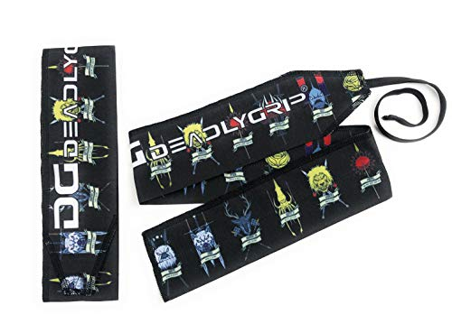 Deadly Grip DG Wrist Wrap. for Maximum Wrist Support Special for Crossfit, Power Lifting, Calisthenics and More. (GOT)