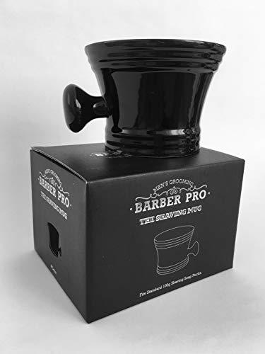 Barber Pro Tasse à raser Noir
