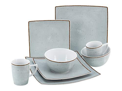 Creatable, 22702 New Elegance Vintage Nature - Vajilla (8 piezas, porcelana)